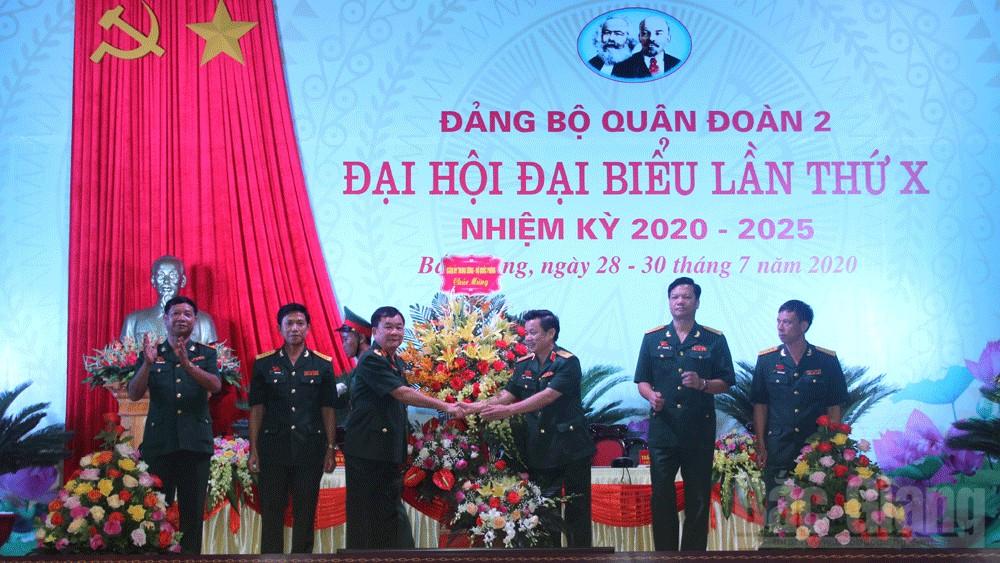 Đại hội đại biểu Đảng bộ Quân đoàn 2: Xác định ba khâu đột phá trong nhiệm kỳ mới